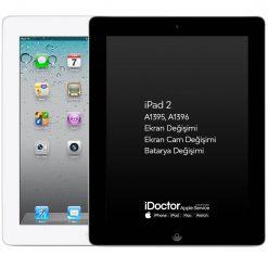 apple ipad 2 ekran batarya değişim servisi
